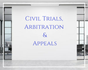 Civil Trials, Arbitration and Appeals