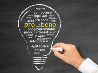Pro bono legal aid orange county business litigation